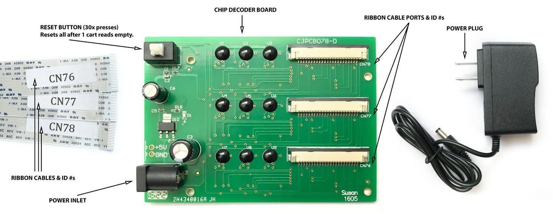 SureColor P800 Chip Decoder & Ink Cartridge Instructions