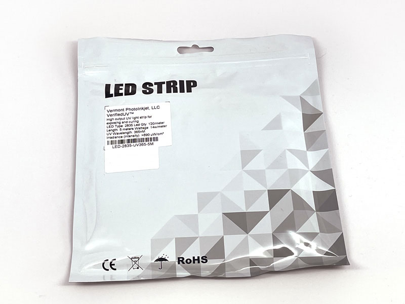 VerifiedUV™ 365nM Ultra Violet LED Strip 5m
