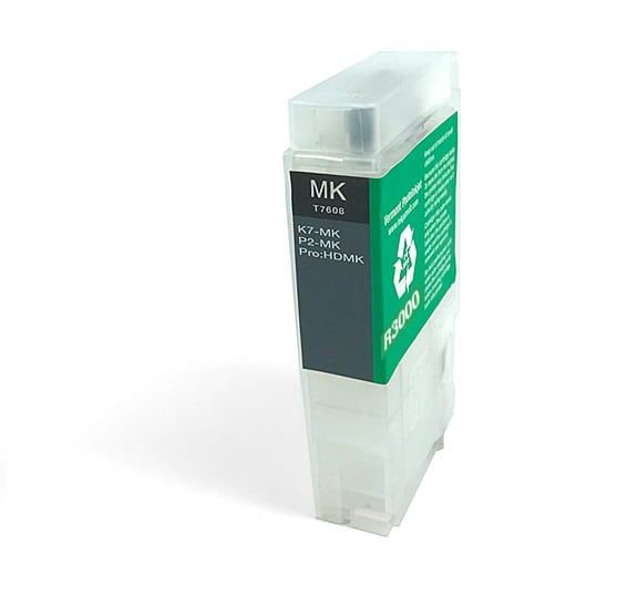 [RCS-R3000-V2-MK] 60ml Refillable Cartridge, Auto-Reset Chip - R3000 - Matte Black