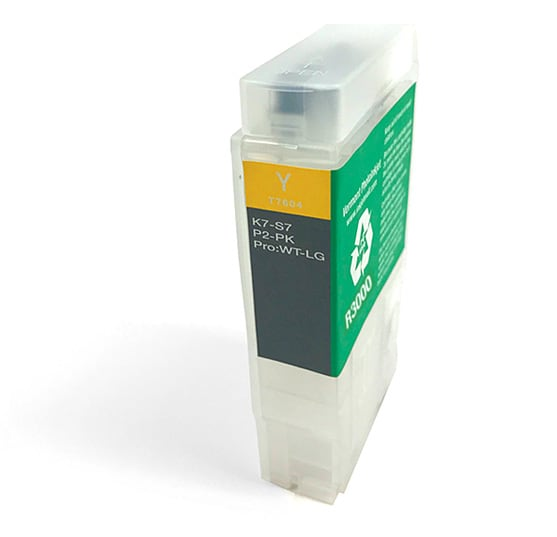 60ml Refillable Cartridge, Auto-Reset Chip - R3000 - Yellow