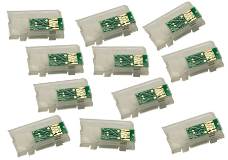 Auto Reset chips for 4900 printer - set of 11