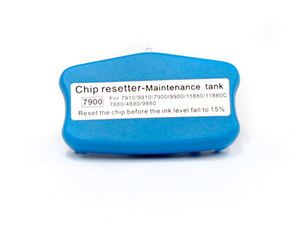 Chip resetter for 7890, 7900, 9890, 9900 maintenance tank