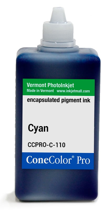 [CCPRO-C-110] ConeColor Pro ink, 110ml, cyan