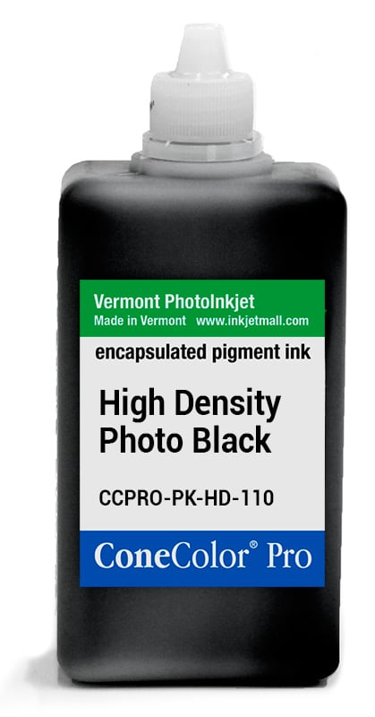 [CCPRO-PK-HD-110] ConeColor Pro ink, 110ml, HD Photo Black