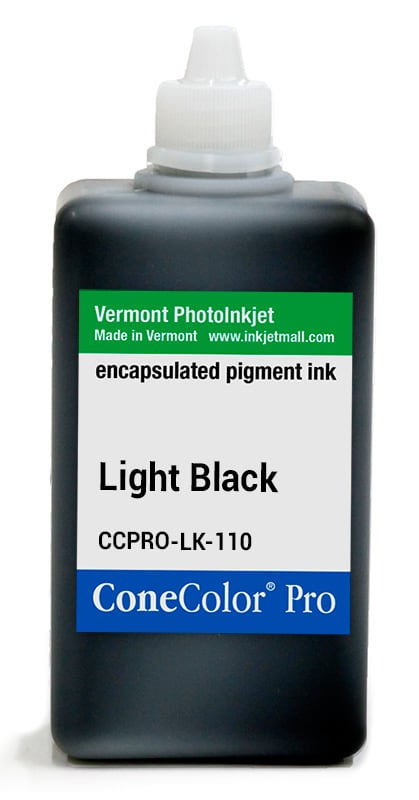 [CCPRO-LK-110] ConeColor Pro ink, 110ml, Light Black