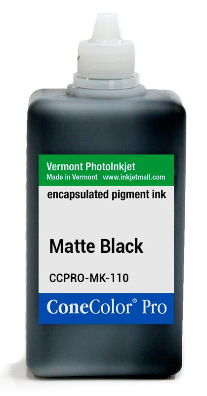 [CCPRO-MK-110] ConeColor Pro ink, 110ml, Matte Black