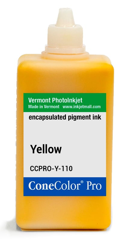 ConeColor Pro ink, 110ml, Yellow