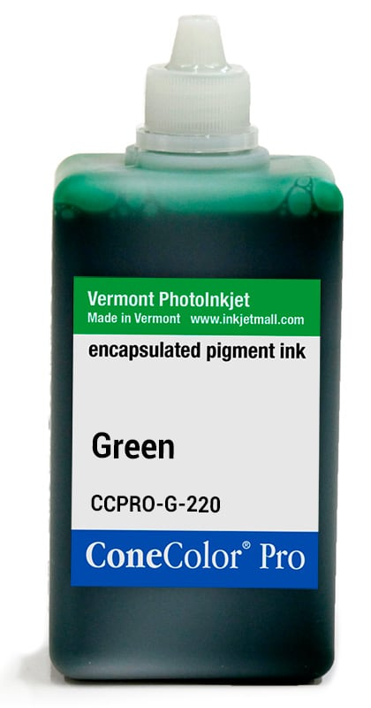 [CCPRO-G-220] ConeColor Pro ink, 220ml, Green