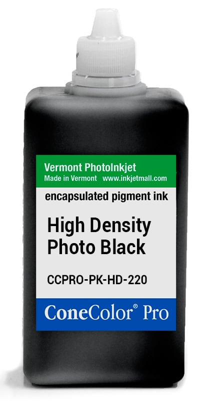 ConeColor Pro ink, 220ml, HD Photo Black