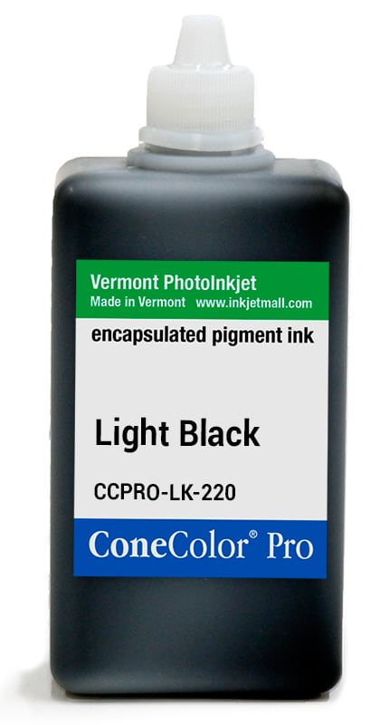 [CCPRO-LK-220] ConeColor Pro ink, 220ml, Light Black