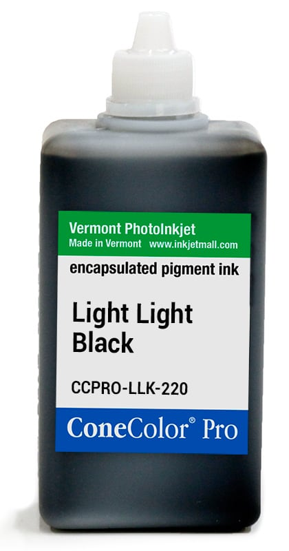 [CCPRO-LLK-220] ConeColor Pro ink, 220ml, Light Light Black