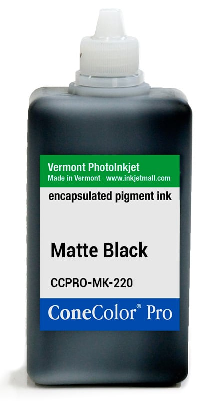 [CCPRO-MK-220] ConeColor Pro ink, 220ml, Matte Black