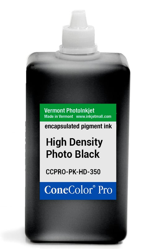 [CCPRO-PK-HD-350] ConeColor Pro ink, 350ml, HD Photo Black