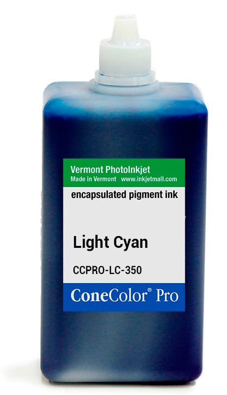 [CCPRO-LC-350] ConeColor Pro ink, 350ml, Light Cyan