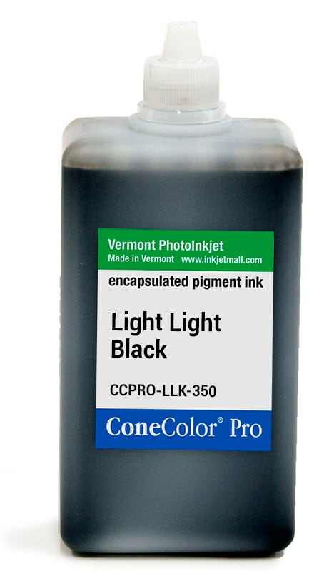 [CCPRO-LLK-350] ConeColor Pro ink, 350ml, Light Light Black