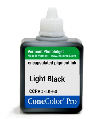 [CCPRO-LK-60] ConeColor Pro ink, 60ml, Light Black
