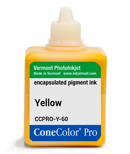 [CCPRO-Y-60] ConeColor Pro ink, 60ml, Yellow