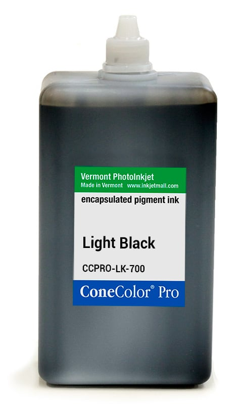 ConeColor Pro ink, 700ml, Light Black