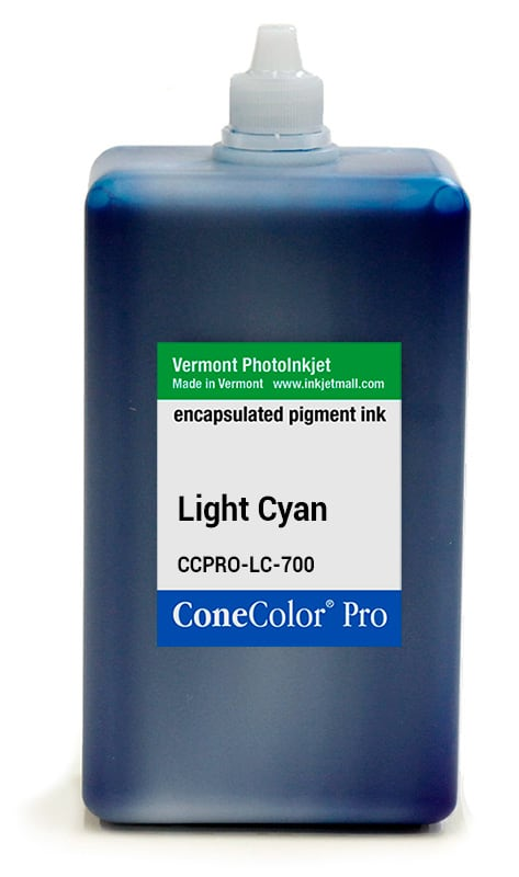 [CCPRO-LC-700] ConeColor Pro ink, 700ml, Light Cyan