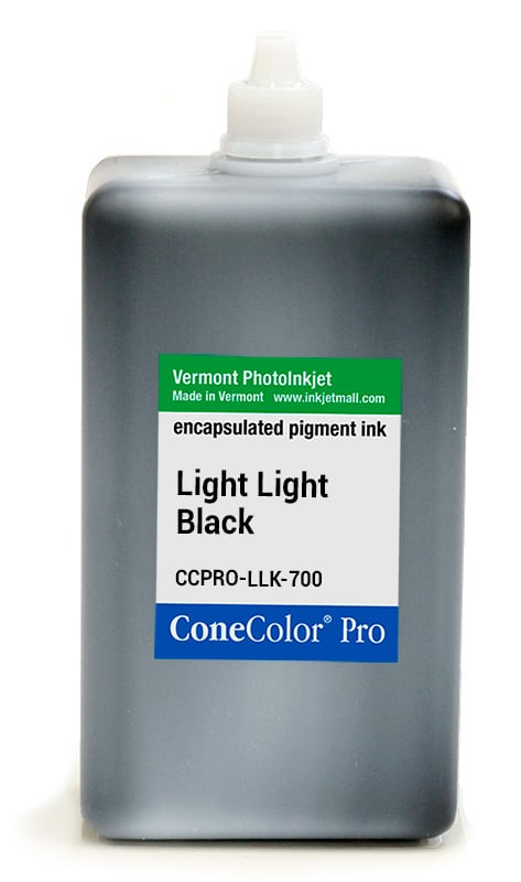 [CCPRO-LLK-700] ConeColor Pro ink, 700ml, Light Light Black