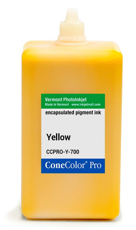 [CCPRO-Y-700] ConeColor Pro ink, 700ml, Yellow