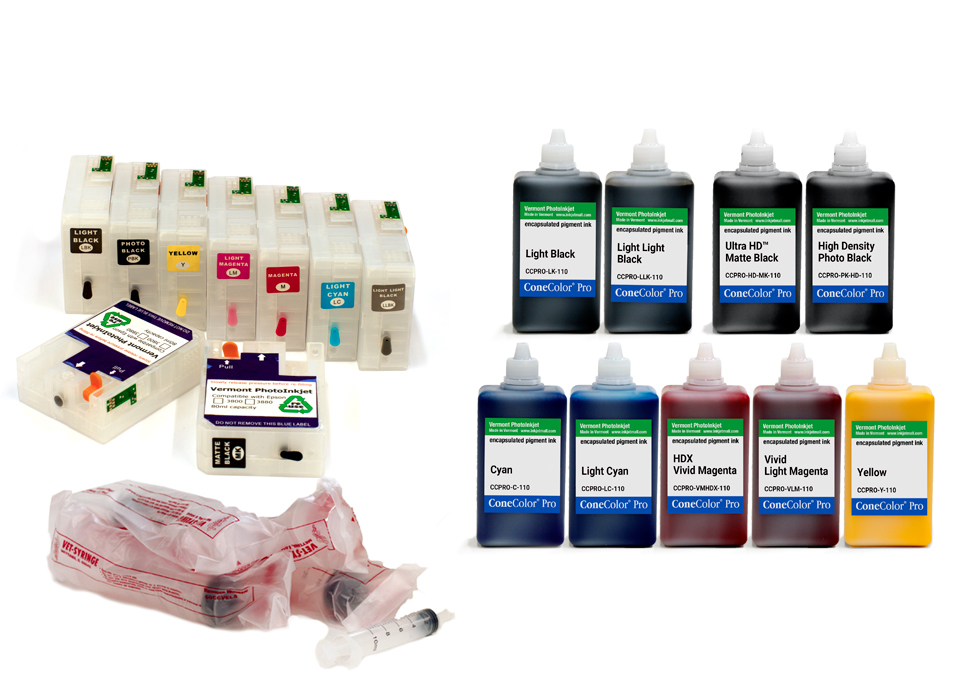 Pro 3800 -  ConeColor Pro HD archival color ink system, 110ml