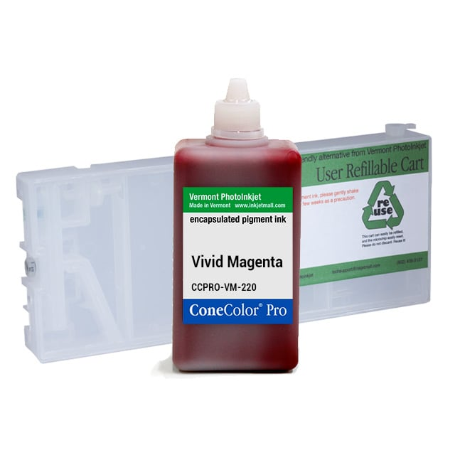 [CCP-4880-220-VM-KIT] ConeColor Pro, 4880, Refill Cartridge, 220ml Ink, Vivid  Magenta