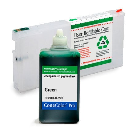 [CCP-4900-220-G-KIT] ConeColor Pro, 4900, Refill Cartridge, 220ml Ink, Green