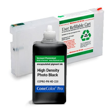 ConeColor Pro, 4900, Refill Cartridge, 220ml Ink, High Density Photo Black