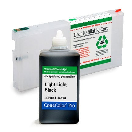 ConeColor Pro, 4900, Refill Cartridge, 220ml Ink, Light Light Black
