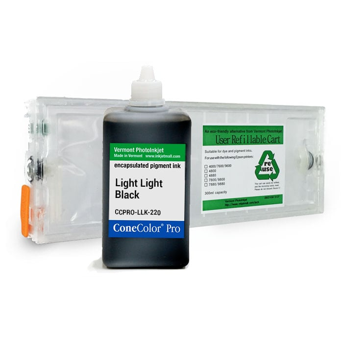 [CCP-7800-220-LLK-KIT] ConeColor Pro, 7800 9800, Refill Cartridge, 220ml Ink, Light Light Black