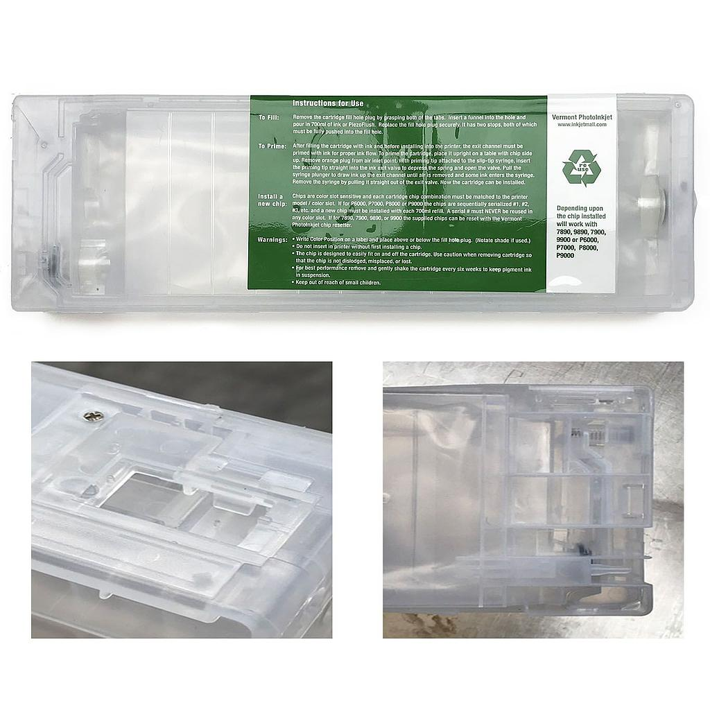 Universal 700mL Refillable Cartridge for SureColor P6000, P7000, P8000, and P9000 Printers