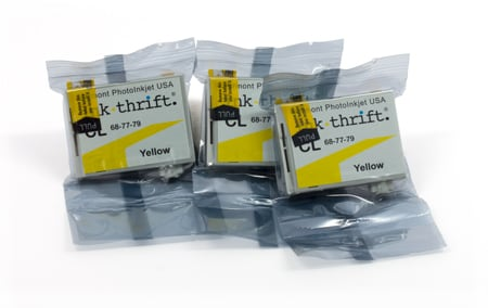 [EZC-CL-3XY] InkThrift CL ink capsules - Set of three - yellow