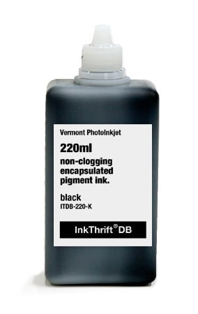 [ITDB-220-K] InkThrift DB Pigment ink, 220ml, Black