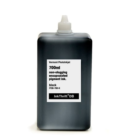 [ITDB-700-K] InkThrift DB Pigment ink, 700ml, Black