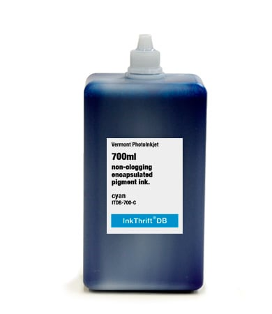 [ITDB-700-C] InkThrift DB Pigment ink, 700ml, Cyan