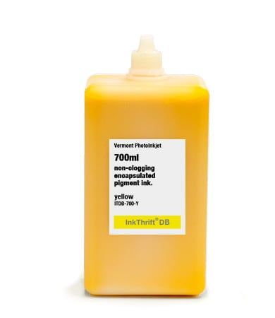 [ITDB-700-Y] InkThrift DB Pigment ink, 700ml, Yellow