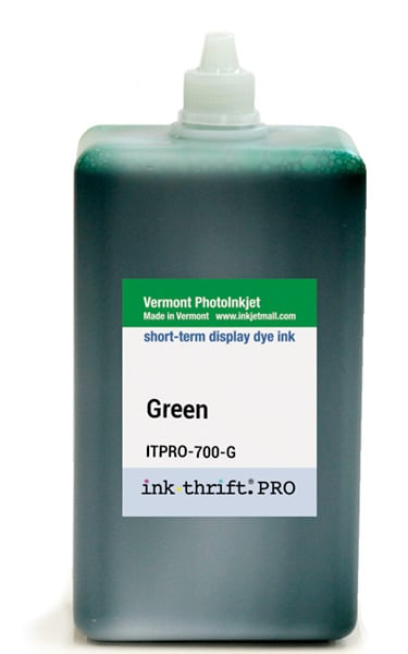 [ITPRO-700-G] InkThrift Pro dye ink, 700ml, Green