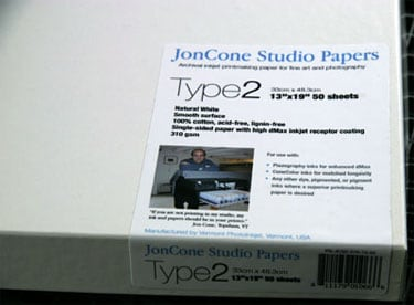 [PS-JCS2-17-25] JonCone Studio® Type2 320gsm - 17 x 22 - 25 sheets