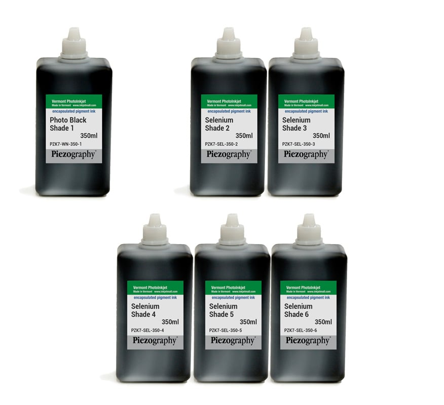 Piezography K6, Selenium Tone, 350ml, Set of 6 Inks (PiezoDN only)
