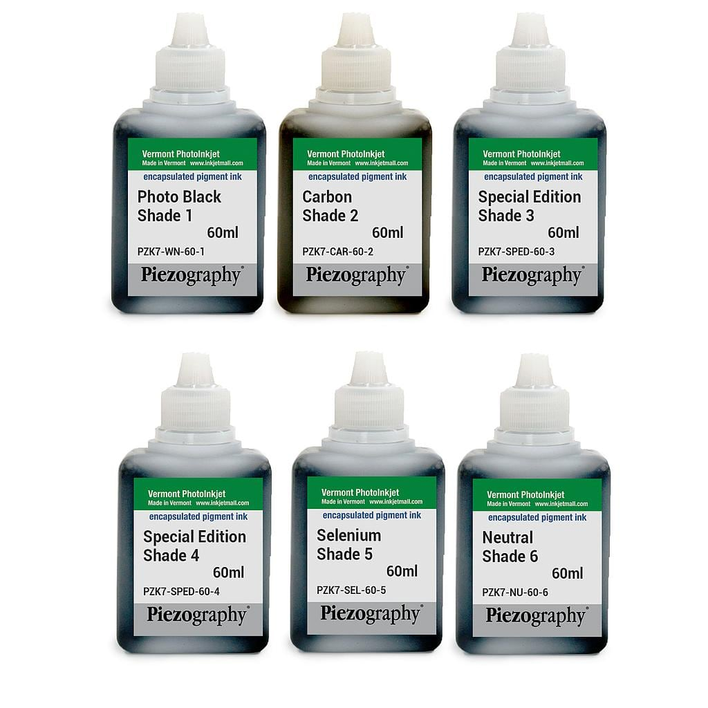 [PIEZODN-SPED-60-SET6] Piezography K6, Special Edition Tone, 60ml, Set of 6 Inks (PiezoDN only)