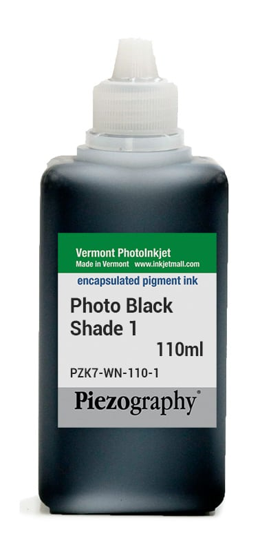 Piezography, 110ml, Shade 1 Photo Black - NOW UPGRADED TO HDPK-110