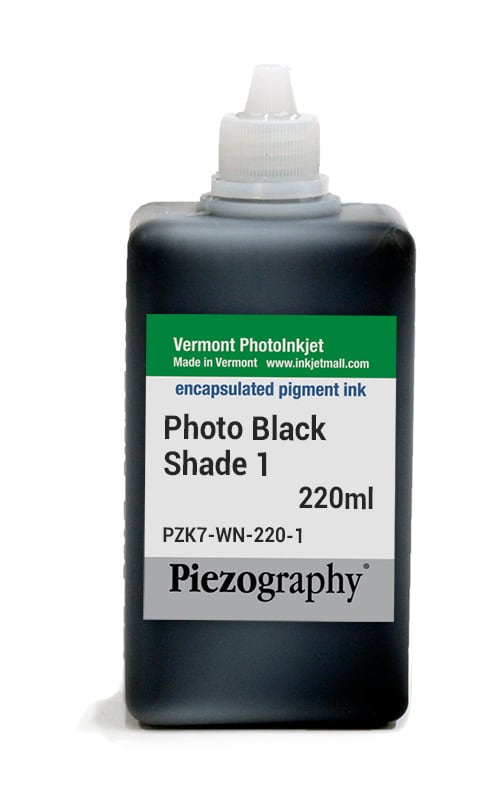 Piezography, 220ml, Shade 1 Photo Black - NOW UPGRADED TO HDPK-220