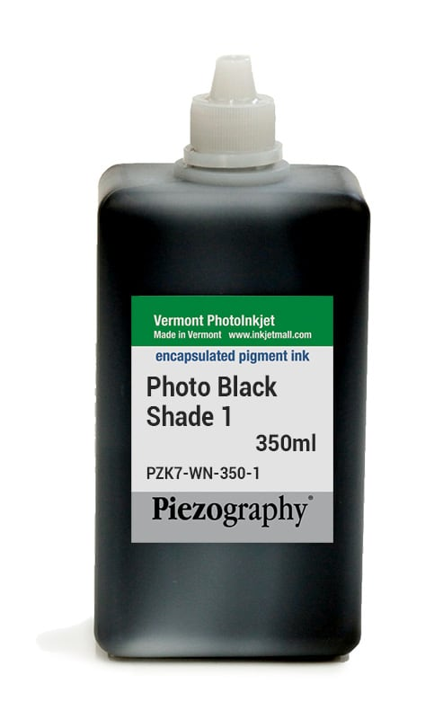 Piezography, 350ml, Shade 1 Photo Black (Warm Neutral Shade 1, or WN1)