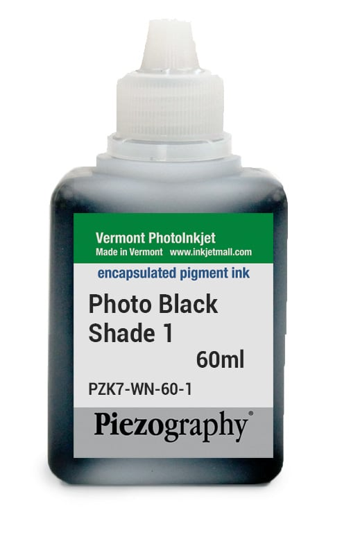 [PZK7-WN-60-1] Piezography, 60ml, Shade 1 Photo Black (Warm Neutral Shade 1, or WN1)