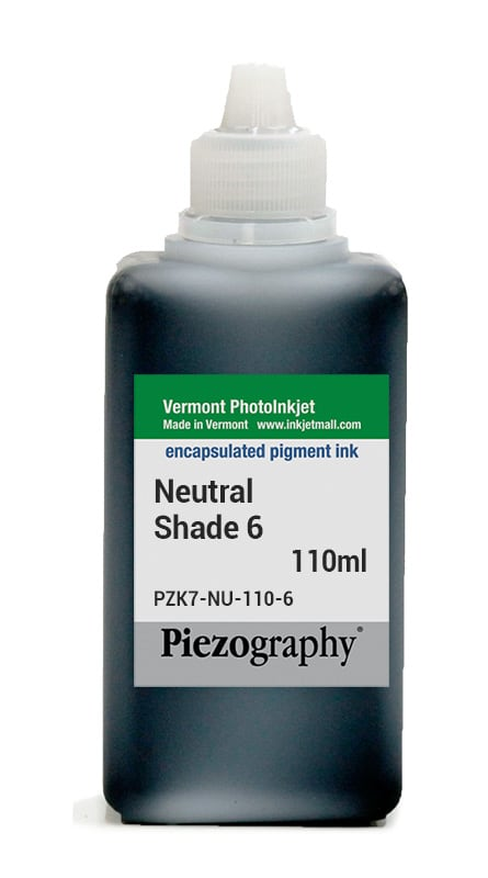 [PZK7-NU-110-6] Piezography, Neutral Tone, 110ml, Shade 6