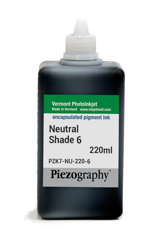 [PZK7-NU-220-6] Piezography, Neutral Tone, 220ml, Shade 6