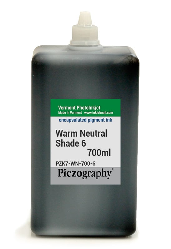 [PZK7-WN-700-6] Piezography, Warm Neutral Tone, 700ml, Shade 6
