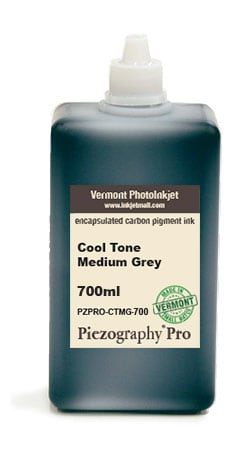[PZPRO-CT-MG-700] Piezography Pro, Cool Tone, Medium Grey, 700ml