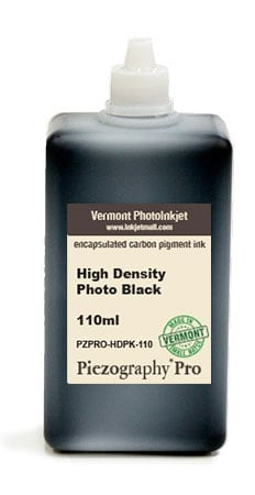 [PZPRO-HDPK-110] Piezography, High Density Photo Black, 110ml